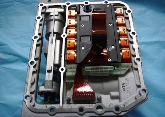 ZF AS-Tronic Actuator Inside